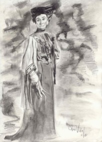 Drawing of Great-Grandmother