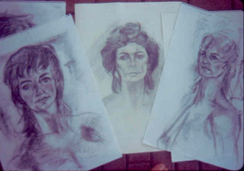 Three Portraits